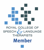 Royal College of Speech and Language Therapists member logo